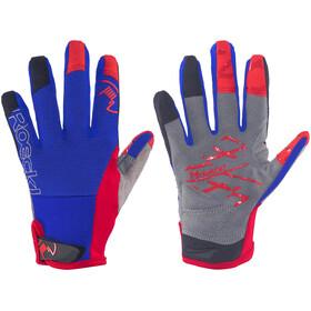 Roeckl Malix Junior fietshandschoenen Kinderen rood/blauw